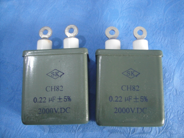 CH82 High Voltage Sealed Composite Dielectric Capacitor
